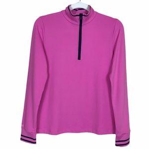 Polo Ralph Lauren Girl's 1/4 Zip Wicking Pullover